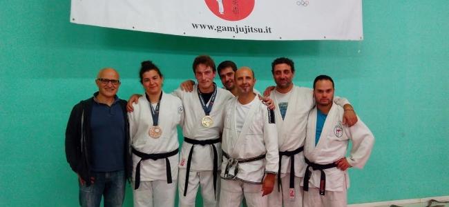 Il Gam Ju Jitsu di Ponte Felcino brilla d'oro con Bisciotti al trofeo internazionale  di Ju Jitsu in Germania