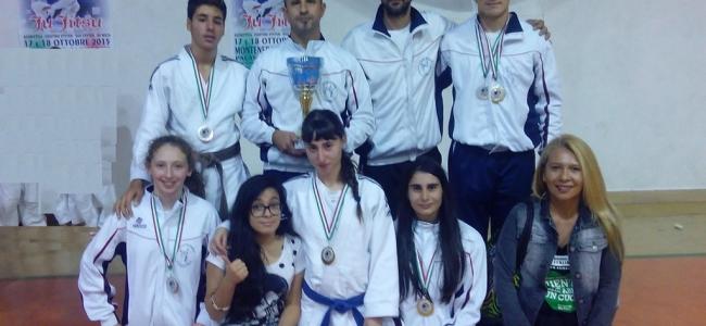 Il  Gam Ju Jitsu di Ponte Felcino fa incetta di medaglie in Coppa Italia