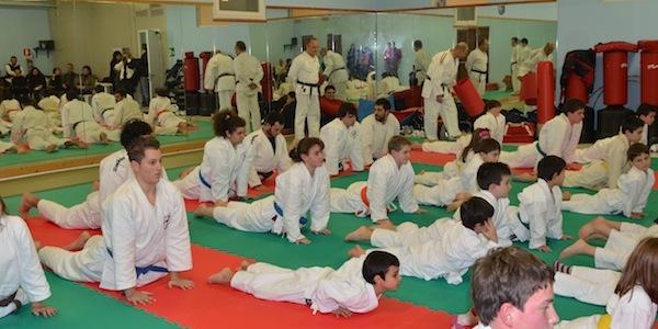 Inaugurazione nuovo tatami